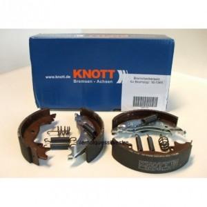 Zapatas de freno KNOTT 160x35,Tambor 160 mm