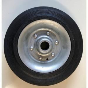 Rueda repuesto rueda jockey KNOTT 200x40 Goma maciza-Llanta chapa