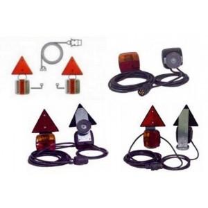 Kit electrico remolque 7 Polos, Portatil (sujecion por imanes)