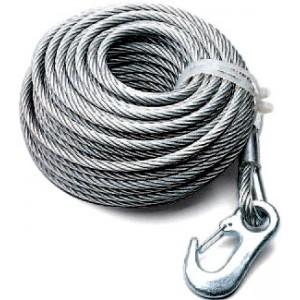 Cable para cabrestante ALKO, Diam. 7 mm 12.5 m.  900 kg