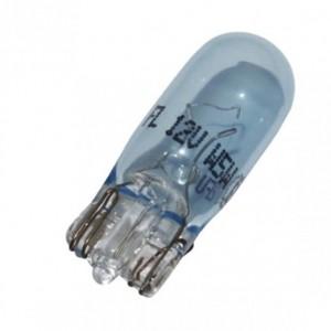 Lampara de piloto 1 filamento tipo cuña Casquilo de cuña, 12V 5W