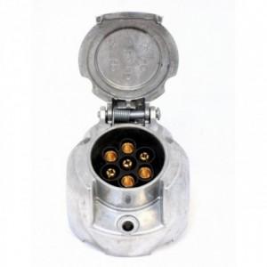 Base enganche remolque  12 V 7 polos Aluminio