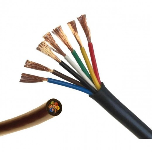 Cable electrico remolque  7 x 0.75 mm2