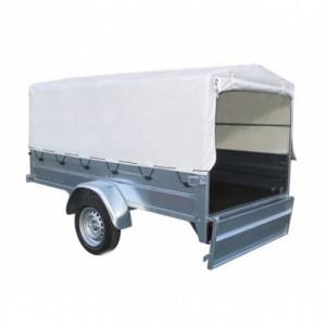 Toldo alto 60 cm remolque caja 208x120