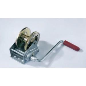 Cabrestante manual ALKO, con freno automatico BASIC Tipo 450 A (desenrrollado automatico)  Sin cable 450 kg