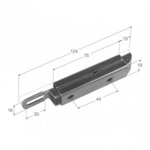 Cierre de pestillo 124 mm (CG-11)