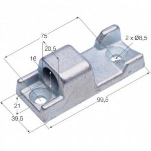 Hembra de bisagra  TIR-10 100x39 Diam. 16 (H TIR-10)