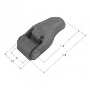 Bisagra desmontable 124x40 (BS-12)