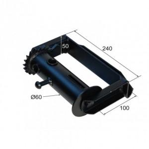Torno tensor para cinta y cable movible Diam. 60 (TT-60 C/CE DES)