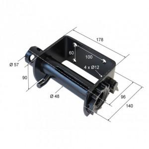 Torno tensor reforzado Diam. 48 (TT-48REF.2)