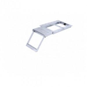 Escalera escamoteable con plataforma superior 1 peldaño (ESC-TK8210)