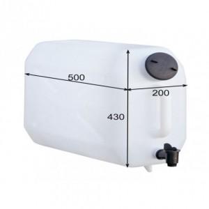 Deposito de agua 25 litros sin soporte (BIDON-5)