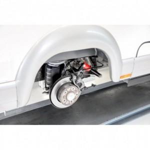 Suspensión neumática CITROEN Jumper X230 (1994-11/2001) chasis ALKO recto (eje a traves del chasis), salida +2 cm.