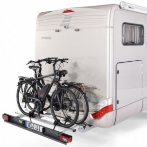 Portabicicletas para Autocaravana SAWIKO Velo III, 2 bicis con base plegable