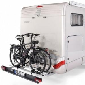 Portabicicletas para Autocaravana SAWIKO Velo III, 3 bicis con base plegable